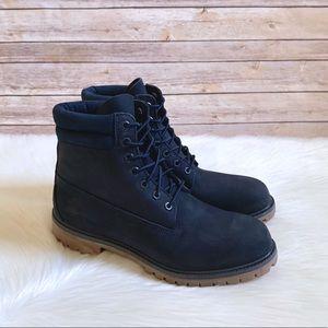 """Timberland Dark Blue Premium 6"""" Waterproof Boots"""